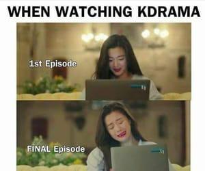 funny, Korean Drama, and memes image