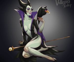 disney, maleficent, and twisted disney image