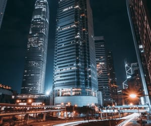 amazing, night, and buildings image