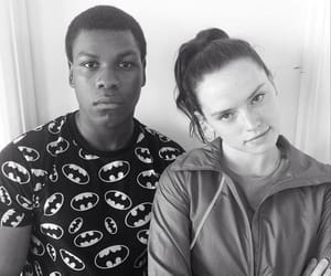 batman, john boyega, and daisy ridley image