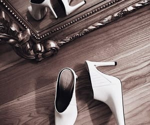 mirror, fashion, and heels image