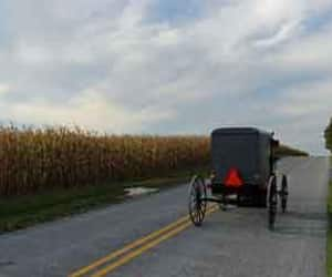 click here, learn more, and amish village pa image
