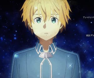 alice, anime boy, and eugeo image