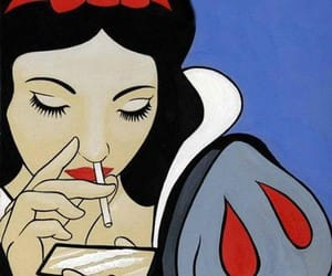 disney, snow white, and drugs image