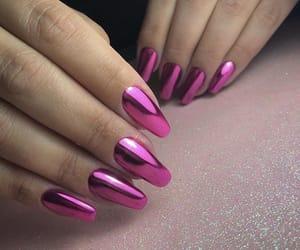 chrome, fashion, and manicure image