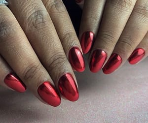 chrome, fashion, and nails image