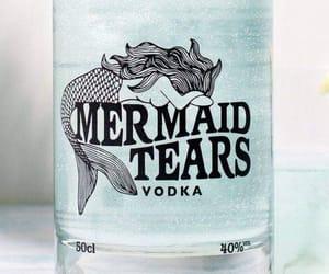 mermaid, tears, and vodka image