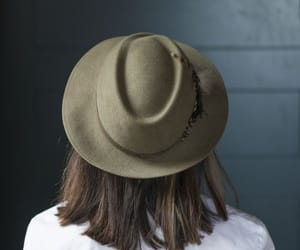 etsy, vintage fedora, and brown fedora image