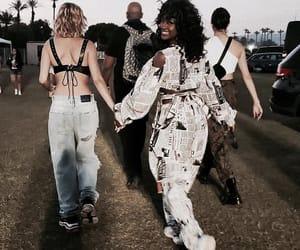 hailey baldwin, coachella, and fashion image