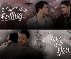 aesthetic, otp, and spn image