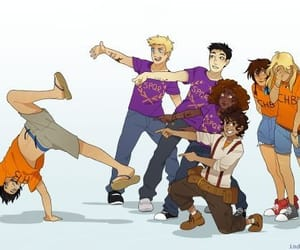 percy jackson, camp halfblood, and s.p.q.r image