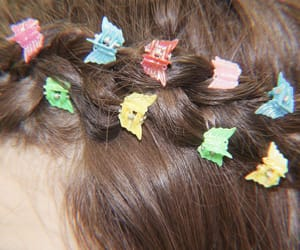 theme, hair, and colorful image