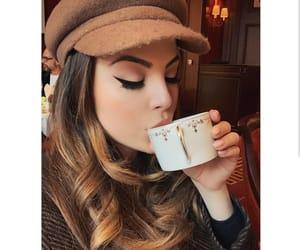 actress, eyeliner, and makeup image