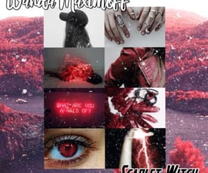 aesthetic, the avengers, and scarlet witch image