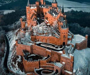 aerial photography, germany, and Hohenzollern Castle image