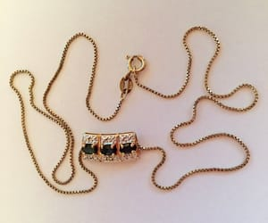 etsy, necklace, and vintage jewellry image