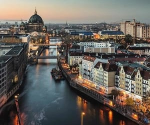 berlin, city, and germany image