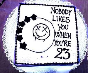 birthday, blink182, and cake image
