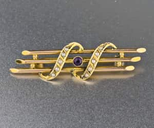 amethyst, edwardian, and seed image