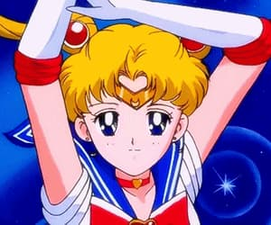 90s, manga, and sailor moon image