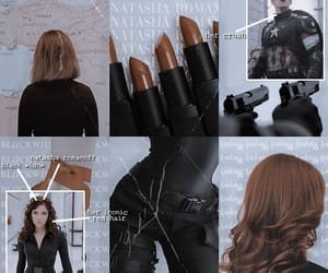 aesthetic, black widow, and the avengers image