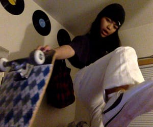 asian, nike, and records image