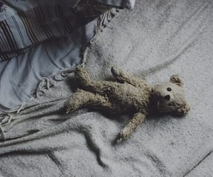 teddy bear, aesthetic, and peter pan image