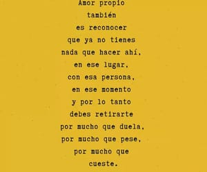 amarillo, frases, and amor image