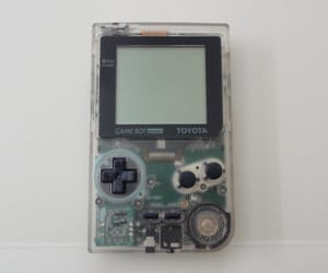 clear, gameboy, and technology image