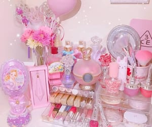 aesthetic, bottles, and makeup image