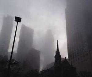 aesthetic, cloudy, and gloomy image