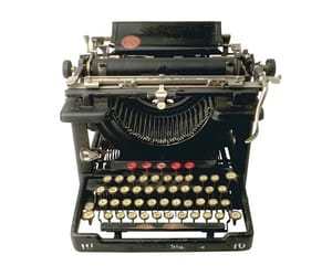 Polyvore, typewriter, and pngs image