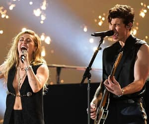 grammys, shawn mendes, and miley cyrus image