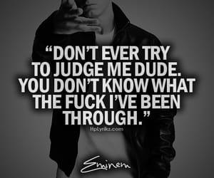 eminem, judge, and quotes image
