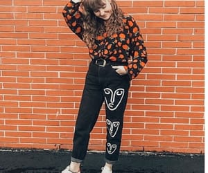adorable, artsy, and outfit image
