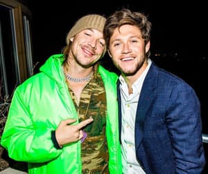diplo, niall horan, and one direction image