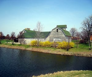 barn, farmhouse, and country living image