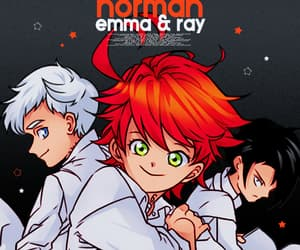 anime, emma, and ray image