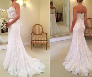 long wedding dresses, a-line wedding dresses, and backless wedding dresses image
