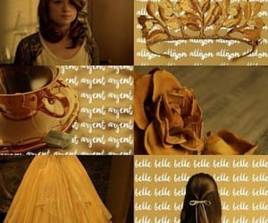 aesthetic, belle, and disney image