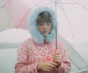 serena motola, pink, and umbrella image
