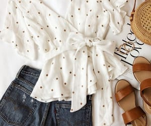 blouse, clothes, and sandals image