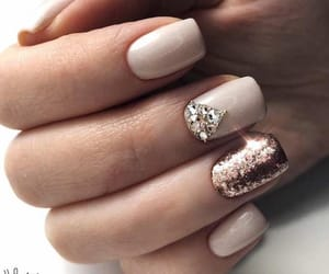 design, glitter, and nails image