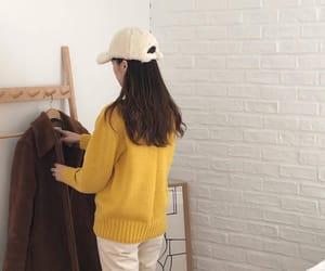 aesthetic, beige, and girl image