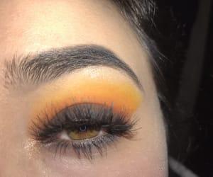 black, follow, and makeup image
