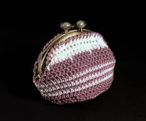 crochet, one of a kind, and coin purse image