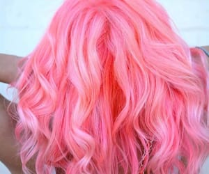 cheveux, court, and pink image