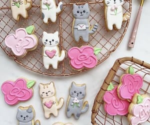 baking, cats, and Cookies image