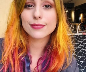 beauty, yellow hair, and cabelo colorido image