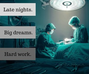 doctor, doctors, and Dream image